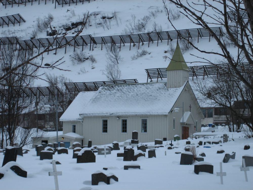 Часовня для погребений — старейшее здание Хаммерфеста