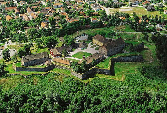 Крепость Фредрикстен не поддалась даже известному вояке Карлу XII
