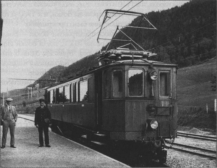 Старейшая в Норвегии электрическая железная дорога Тамсхавнбанен