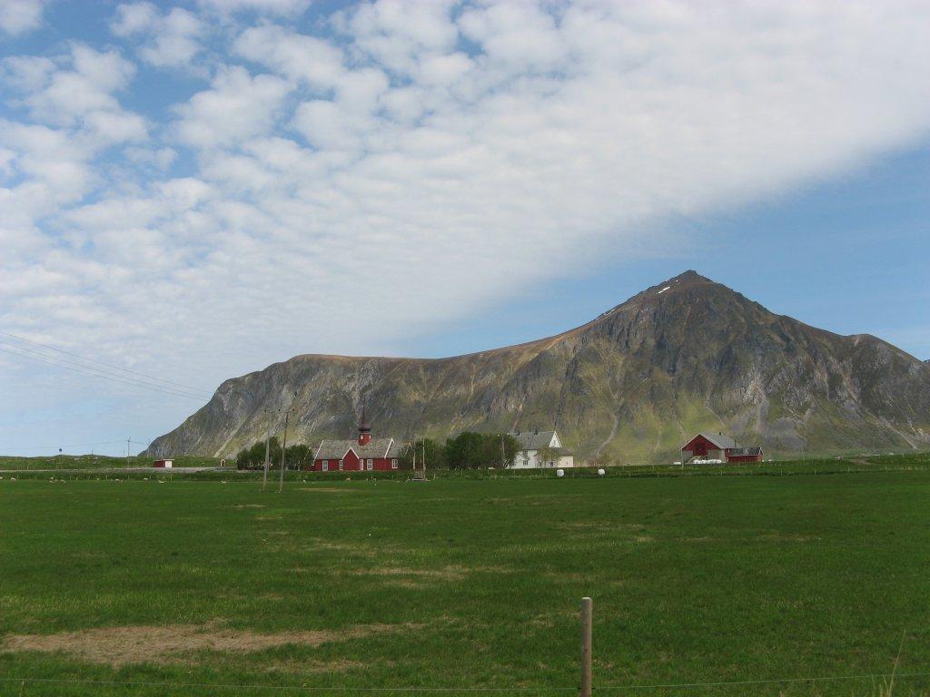 Лофотенские острова — фермерский рай