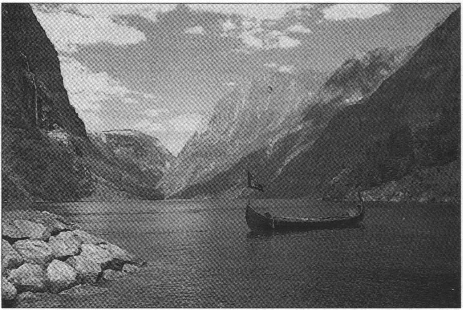 Лодка нурланского типа