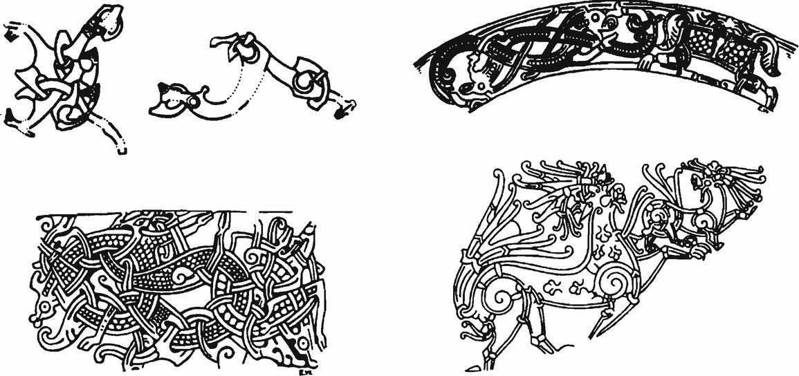 Стили узоров викингов